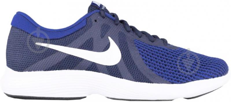 Кроссовки Nike NIKE REVOLUTION 4 EU AJ3490-414 р.10 синий - фото 1