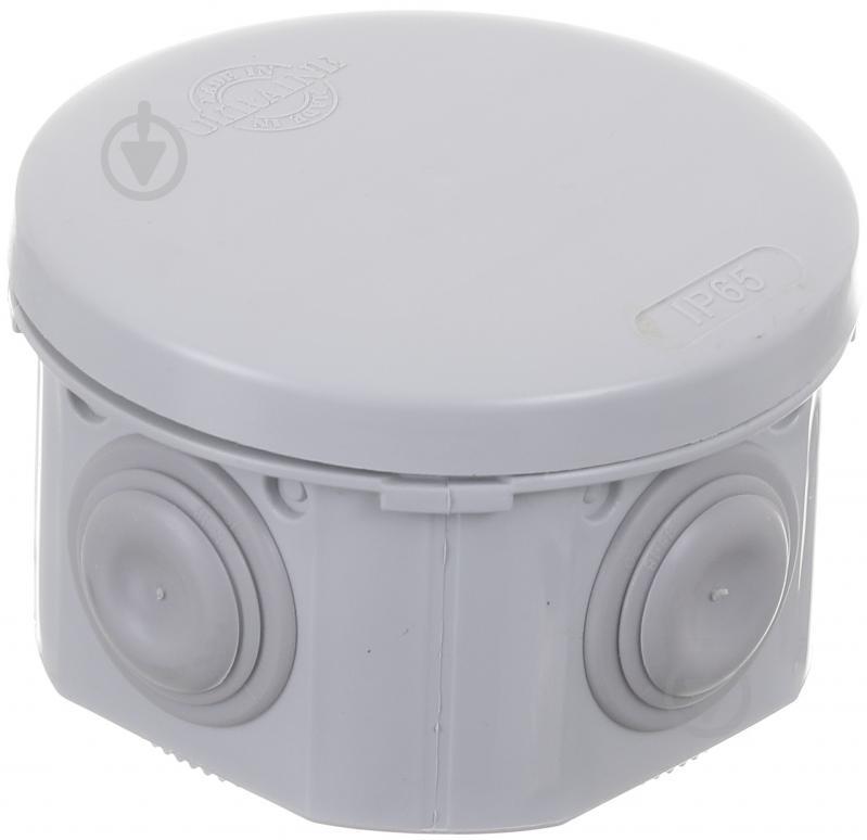 Коробка розподільча з кришкою HausMark пластик IB004