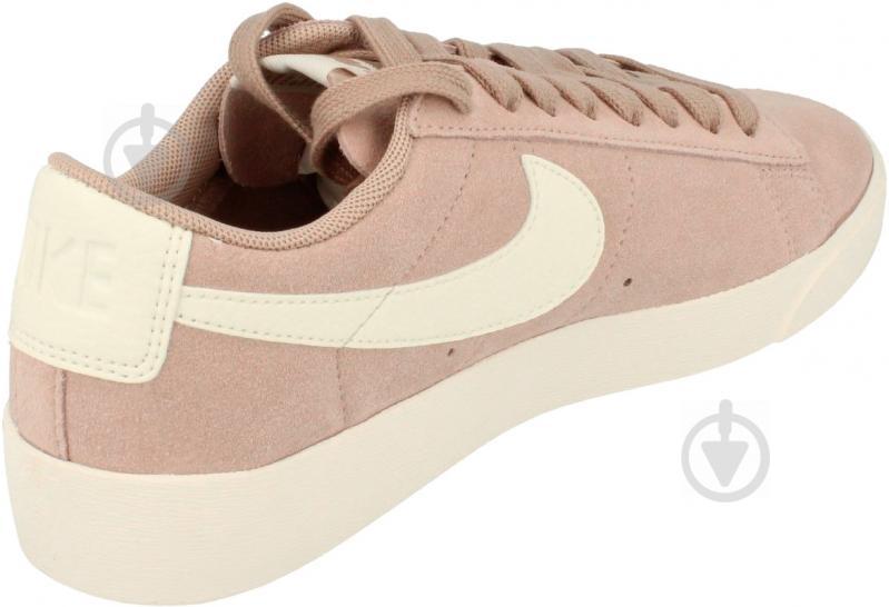 new style 842fa 16466 Кросівки Nike W BLAZER LOW SD AV9373-200 р.10 бежевий - фото 3