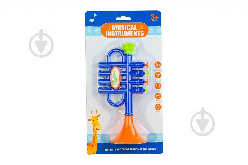 Іграшка музична труба 6824E - фото 1