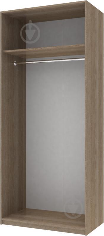 Шафа гардеробна Doros 2100x900x520 мм трюфель