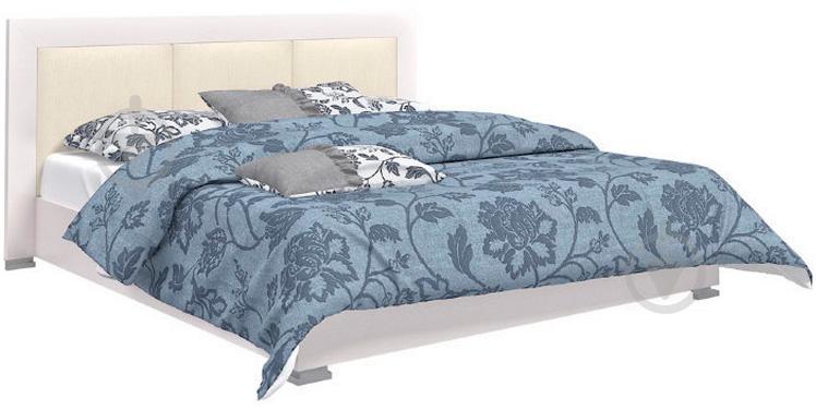 Ліжко Aqua Rodos Karat KRWhBed-Lift-1600 160x200 см білий глянець - фото 1