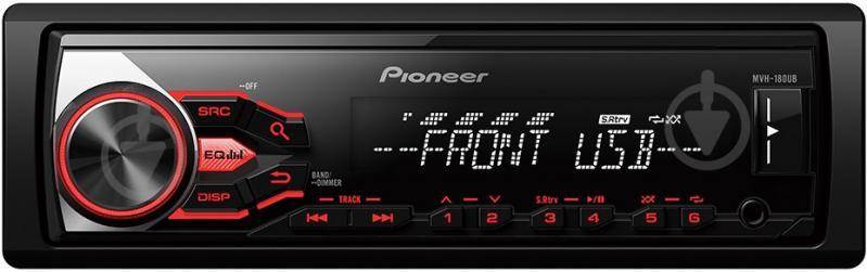 Автомагнітола PIONEER MVH-180UB - фото 1