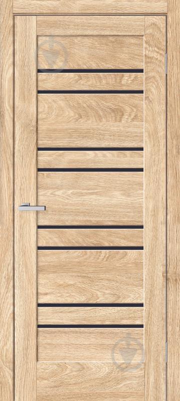 Дверне полотно ОМіС Rino 01 ПО 800 мм дуб савана - фото 1