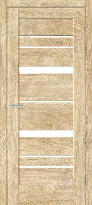 Дверне полотно ОМіС Rino 02 ПО 800 мм дуб савана - фото 1