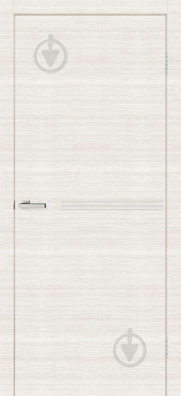 Дверне полотно ОМіС Bianco Line М01 ПГ 600 мм дуб - фото 1