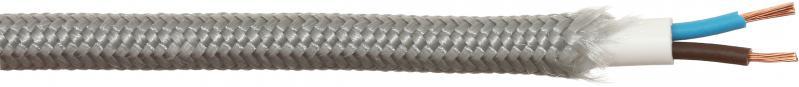 Кабель Ретро-П ПВС 2x0,5 в текстильній оболонці 47599 - фото 1