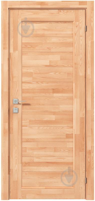 Дверне полотно Rodos Woodmix Praktic Master ПГ 700 мм сосна - фото 1