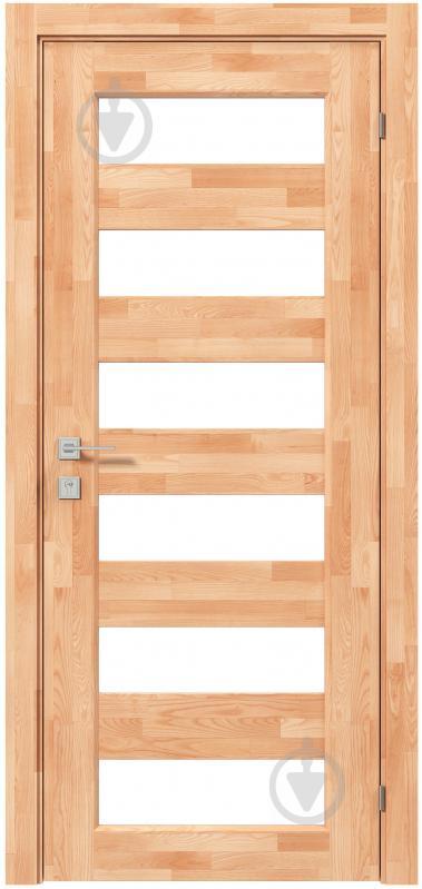 Дверне полотно Rodos Woodmix Praktic Master ПО 700 мм сосна - фото 1