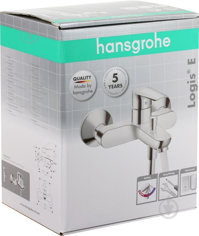 Змішувач для ванни Hansgrohe Logis E 71404000 - фото 2