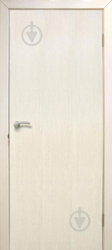 Дверное полотно ОМиС МДФ глухе ПГ 600 мм сосна сицилия - фото 1