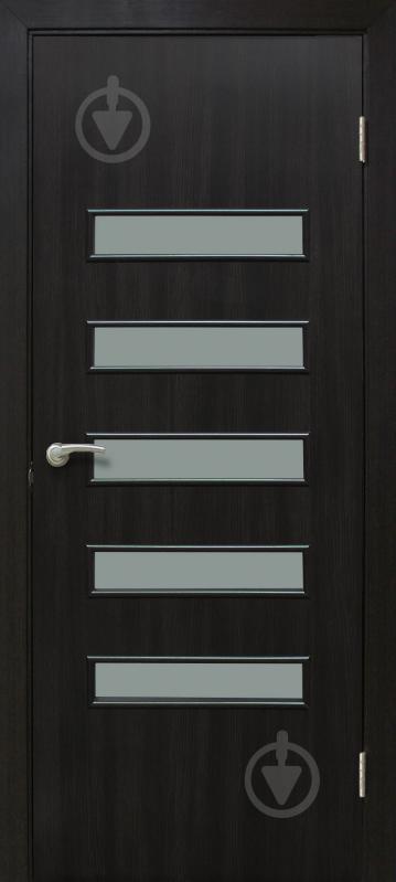 Дверне полотно ламіноване ОМіС Акорд 3 ПО 800 мм венге - фото 1