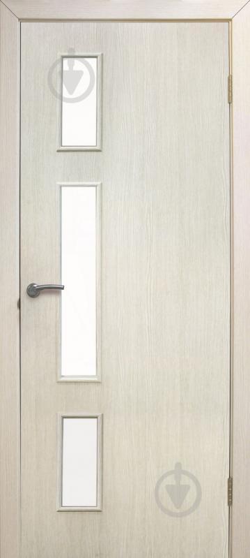 Дверне полотно ламіноване ОМіС Соло ПО 600 мм сосна сицилія - фото 1