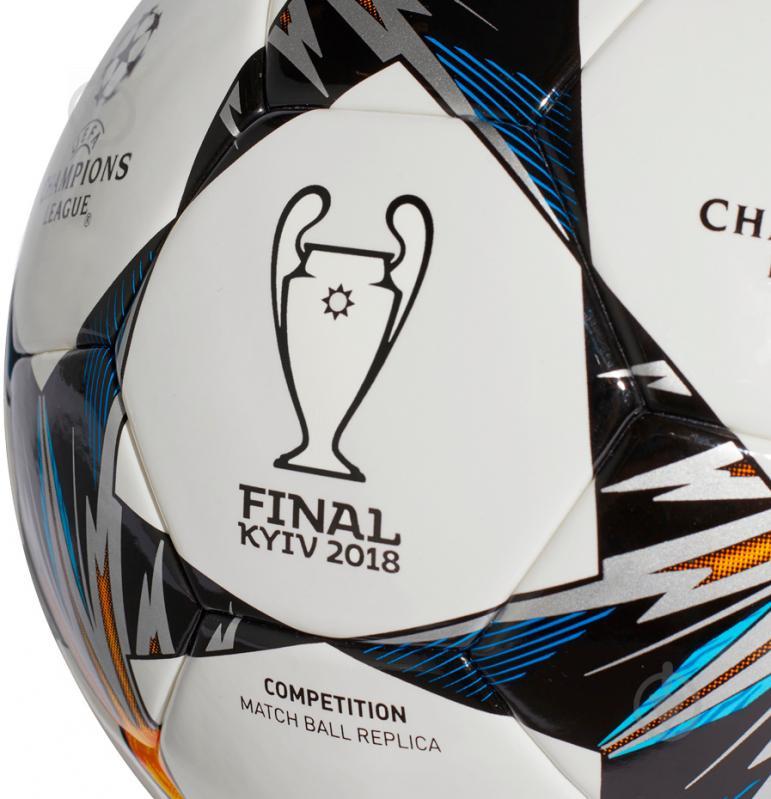 Футбольный мяч Adidas CF1205 р. 5 Finale Kiev Comp CF1205 - фото 4