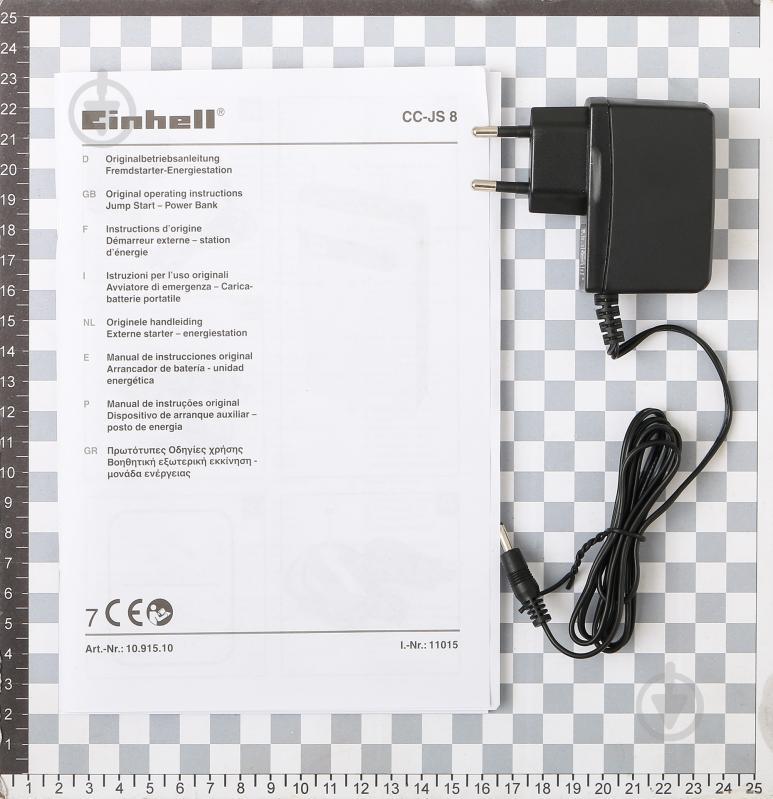 Мобильное пускозарядное устройство Einhell CC-JS 8 - фото 7