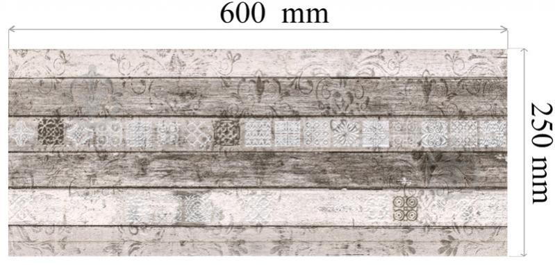 Плитка Konskie group Woodgrey geo декор 25х60 - фото 3