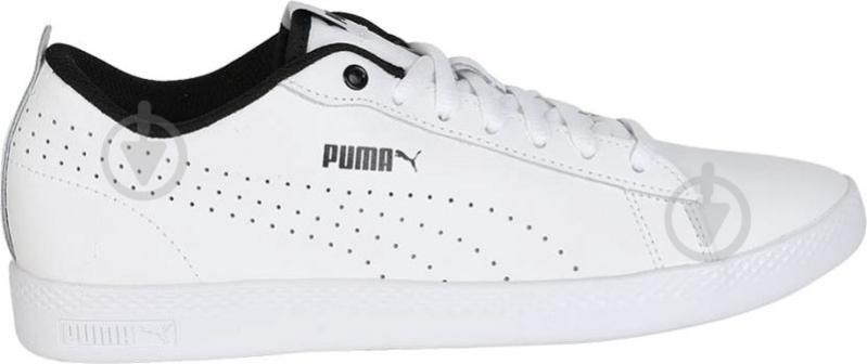 Кеды Puma SmashWnsv2LPerf 36521601 р. 6,5 белый - фото 3
