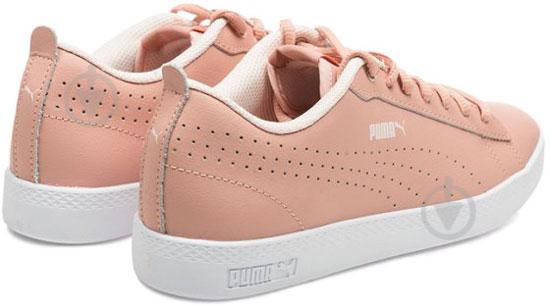 Кеды Puma SmashWnsv2LPerf 36521603 р. 6,5 розовый - фото 2