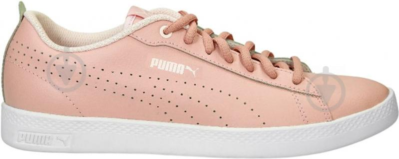 Кеды Puma SmashWnsv2LPerf 36521603 р. 5 розовый - фото 4
