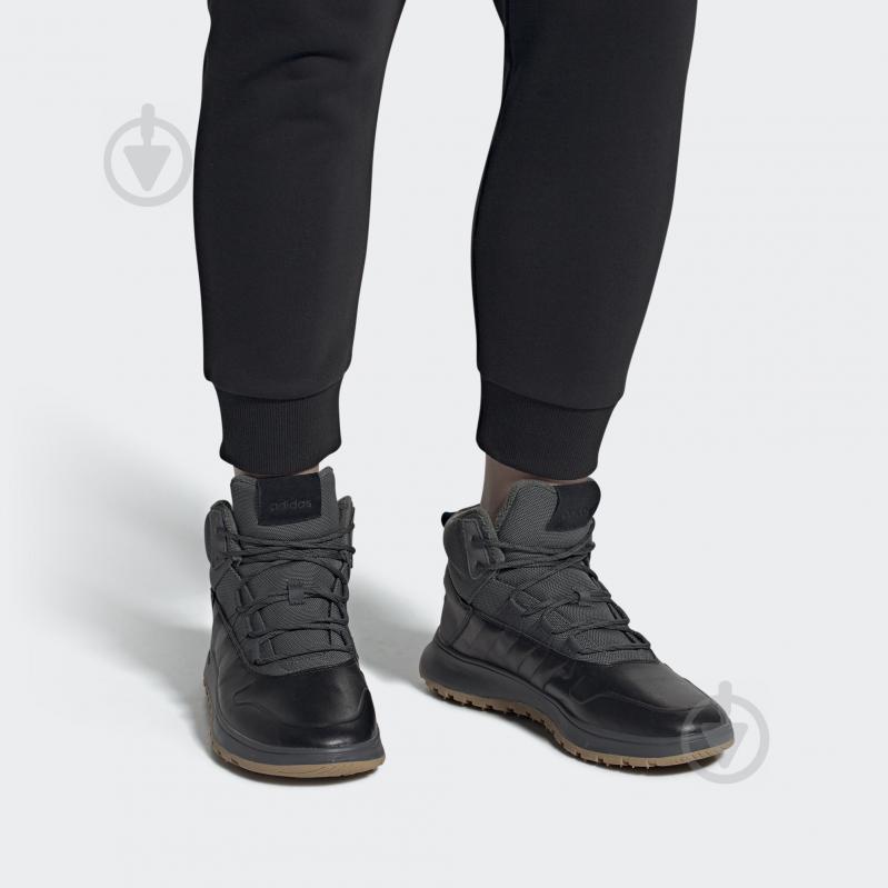 Ботинки Adidas FUSION STORM WTR EE9706 р. 8 светло-серый - фото 10