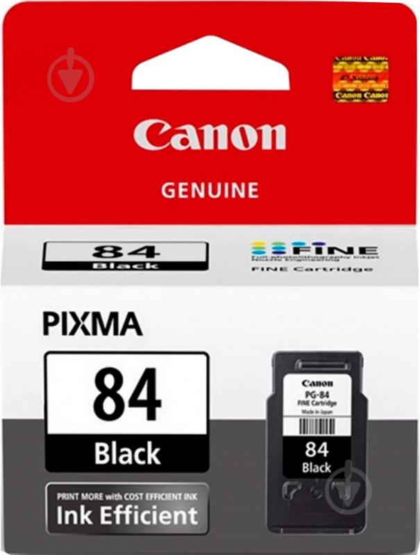 Картридж Canon  PG-84 PIXMA Ink Efficiency Black 8592B001 чорний 8592B001 - фото 1
