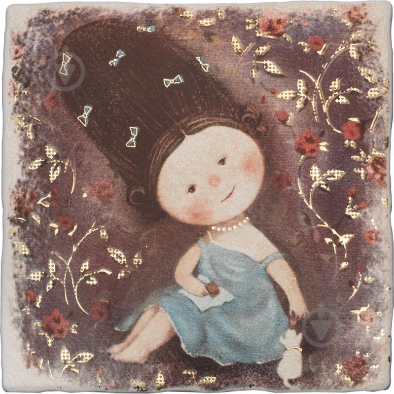 Плитка Атем Ruth Baby 3 декор 20х20 - фото 1
