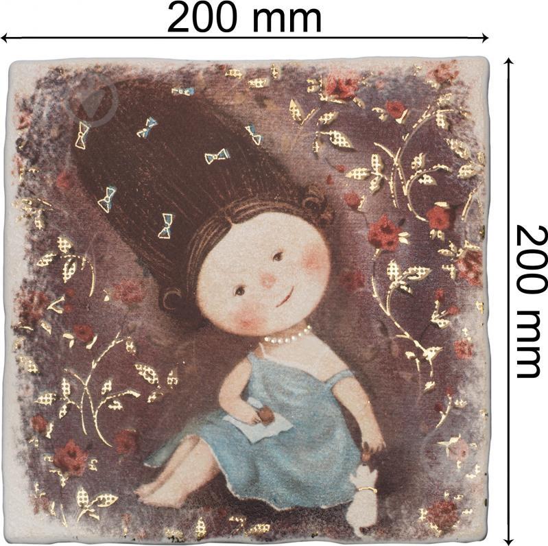 Плитка Атем Ruth Baby 3 декор 20х20 - фото 3