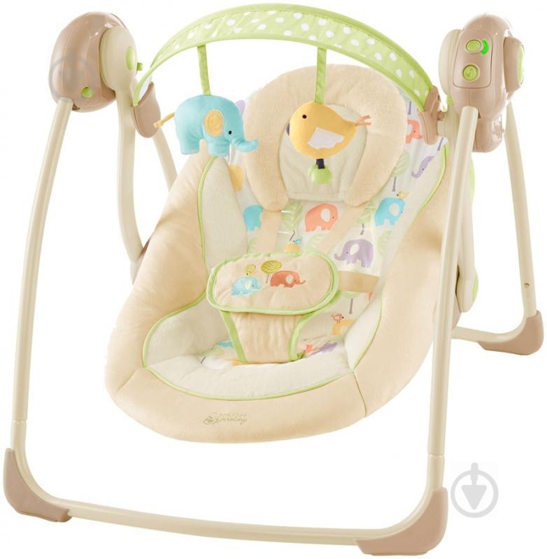 Крісло-гойдалка Bright Starts Слоненя 7130 - фото 1