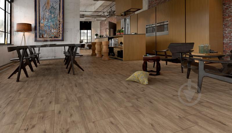 Плитка Golden Tile Alpina Wood коричневый 897940 30,7x60,7 - фото 4