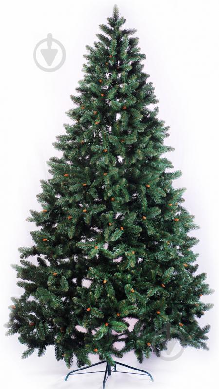 Ялинка штучна Рождественская 2.5 м ПВХ зелений