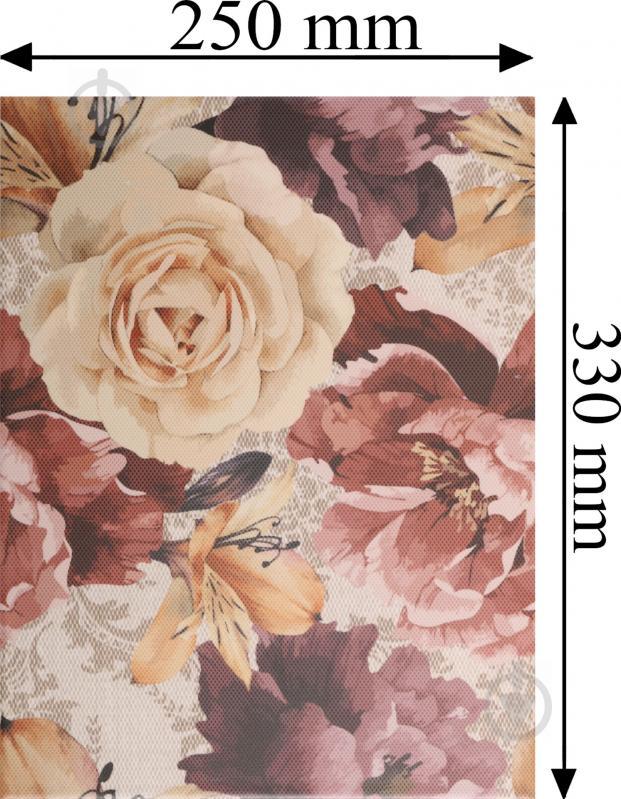 Плитка Golden Tile Gobelen Flower бежевый 701151 25x33 - фото 7