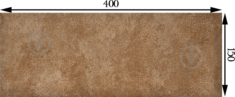 Плитка InterCerama Europe червоно-коричнева 127 092 15x40 - фото 3