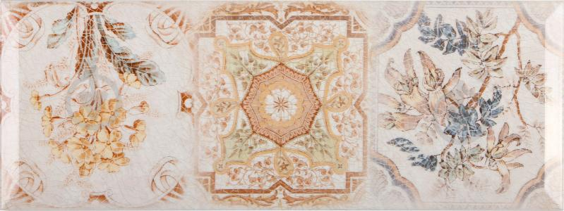 Плитка InterCerama Europe декор бежевий Д 127 021-3 15x40 - фото 1