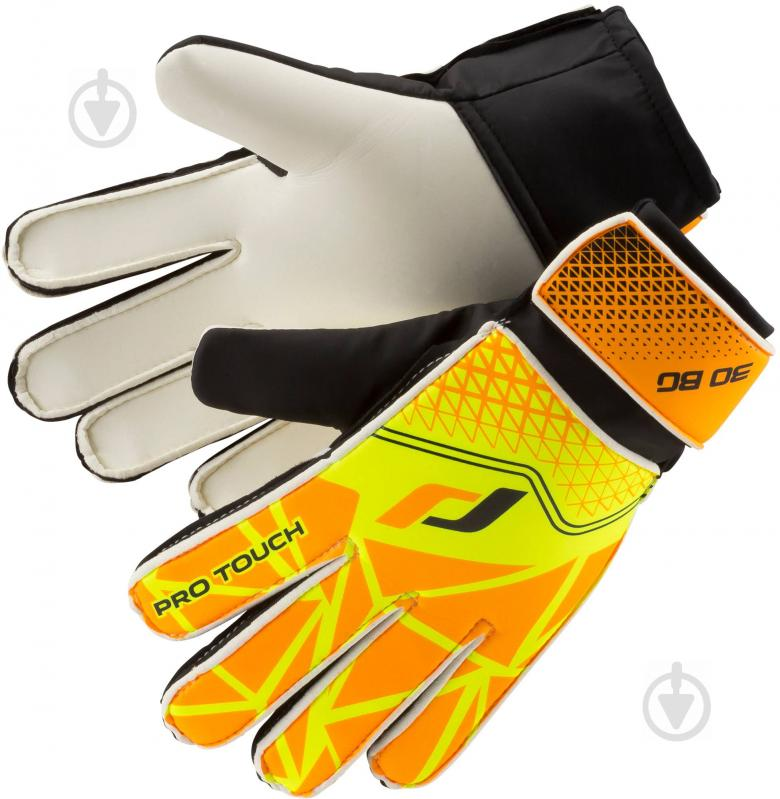 Вратарские перчатки Pro Touch Force 30 BG р. 7 оранжевый - фото 1