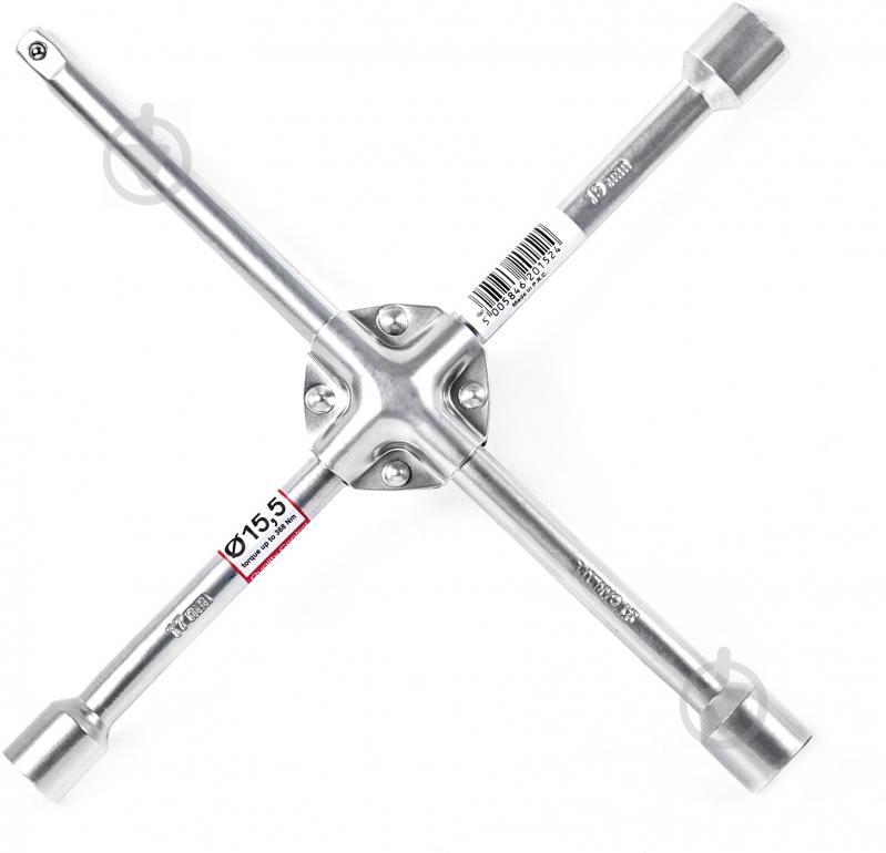 Ключ колесный усиленный по центру Carlife WR152 - фото 1