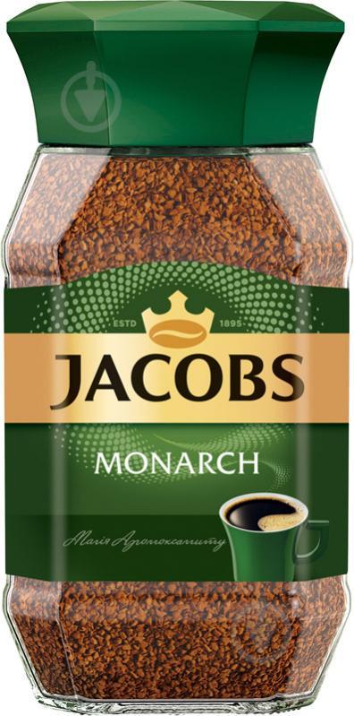 Кофе растворимый Jacobs Monarch 190 г - фото 1