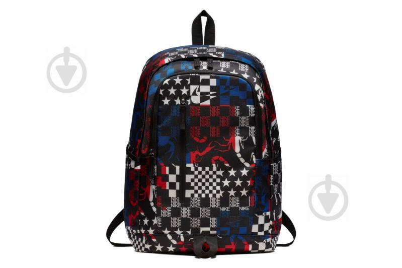 Рюкзак Nike ALL ACCESS SOLEDAY BKPK-AOP BA5533-011 20 л черный - фото 1