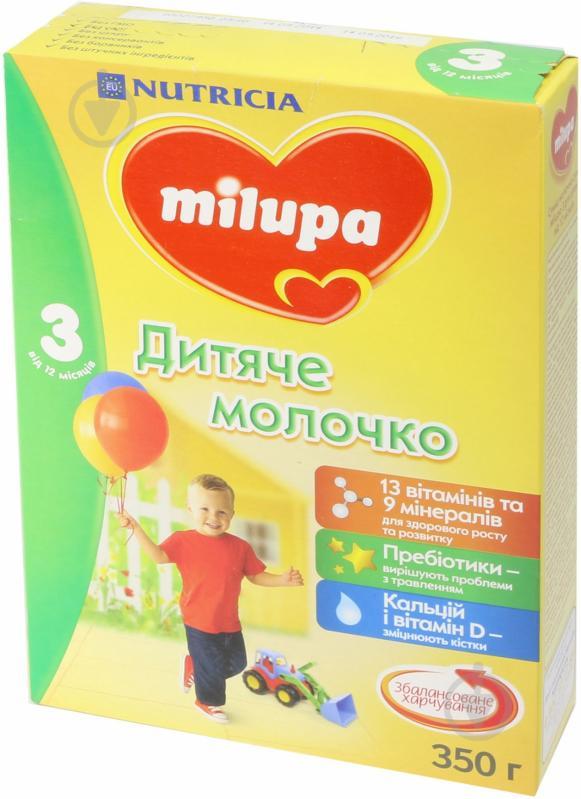 Суха молочна суміш Milupa 3 350 г 5900852025525 - фото 1