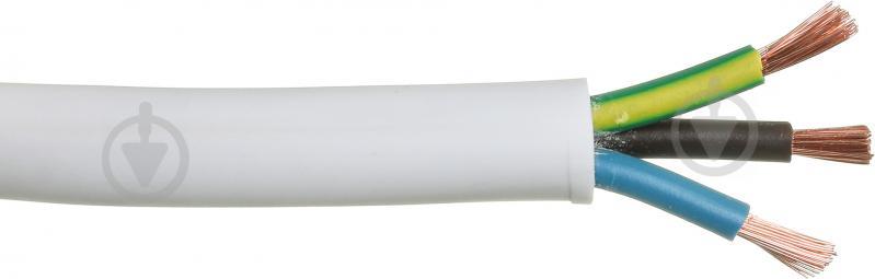 Провід багатожильний Expert Power ПВС 3x4,0 білий - фото 1