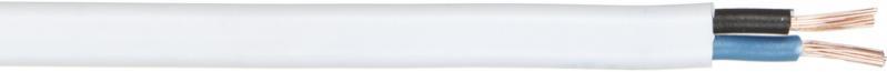 Провід багатожильний Expert Power ШВВП 2x1,0 білий - фото 1