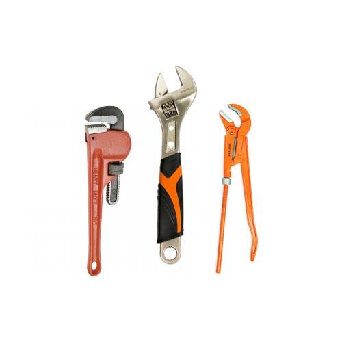 Ключі трубні та розвідні