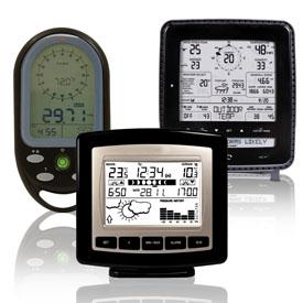 Метеостанції та термометри побутові