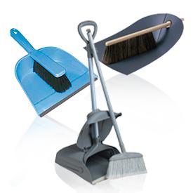 Щітки та совки для прибирання