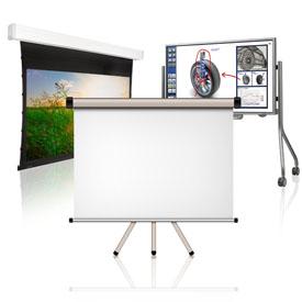 Проекційні екрани, електронні дошки