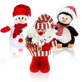 М'які іграшки новорічні