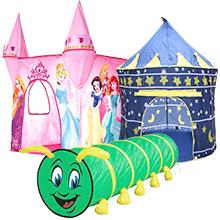 Дитячі намети та тунелі
