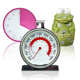 Кухонні таймери та термометри
