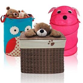 Ящики та кошики для іграшок