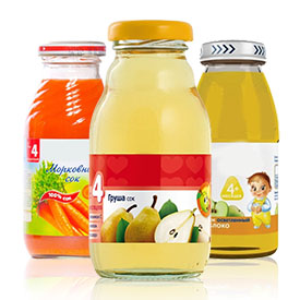 Дитячі соки та напої