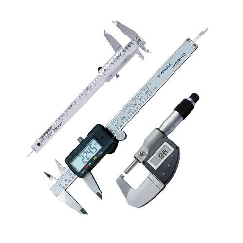 Штангенциркулі та мікрометри